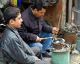 Turkey-Gaziantep-Bazaar-Master and Apprentice