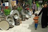 Turkey - Saniurfa -Marketplace - Pots, Trays, Vases
