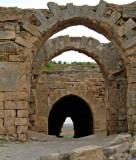 Turkey - Harran - Castle openings to infinity