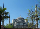 Turkey  Istanbul - Mosque - view from Hotel Front Door