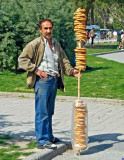 Turkey - Istanbul - Bread on a stick