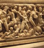 Turkey - Antalya Museum - Sarcophagus -closeup