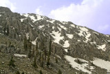 Turkey - Enroute Antalya - Blue Skys and snow