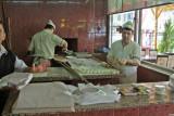Turkey - enroute Antalya - Getting ready lunch break