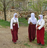 Turkey - Enroute Antalya - Wedding - Bride and Support