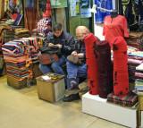 Turkey - Istanbul - Grand Bazaar - Fez and Scarf Art