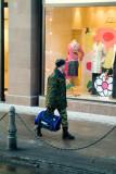 Walking and window shopping