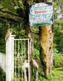 Cerro Punta - Finca Dracula Entrance