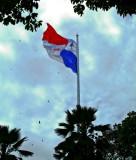 Panama City - Ancon Hill - Panama Flag