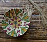 Rio Chagres - Embera Tribe - Weaving skills