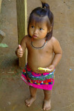 Rio Chagres - Embera Tribe - Thumbs up