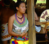 Rio Chagres - Embera Tribe - Pensive Vendor