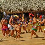 Rio Chagres - Embera - Dance festival