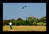 Kite Flyer at Brenton Point
