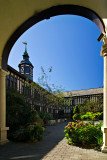 Into the Courtyard