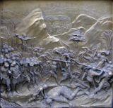 le combat contre les Philistins
