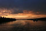 Sunset on Neva