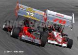 Mansfield Motorsports Park - ISMA & USAC Focus 08/11/07
