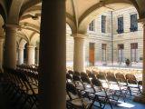 Genève , la cour de l'hotel de ville