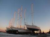 le package d'hiver des voiliers