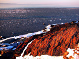 rocher aux lichens