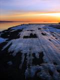 Sur le quai glacé