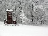 La tombe de Chao sous la neige