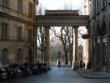 entrée de la vieille ville