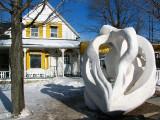 Rivière-du-loup et ses sculptures de neige