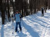 les pistes de ski de fond
