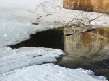 l'eau et la neige