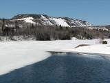 la mine à ciel ouvert à Saint-Marc du lac long