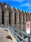 stationnement interdit au barrage