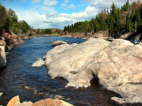 rochers du Saguenay