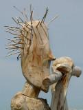 Chevelure de bois
