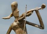 le violoniste de bois