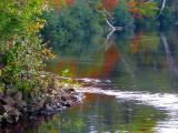 rouge orange d'automne