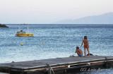 Kids at paradise beach