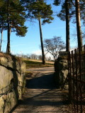 Another entrance to the cemetary