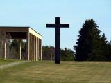 Cross close to the crematory