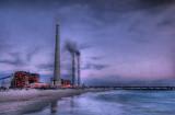Hadera power  station.