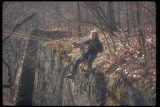 Josiah traversing the Panther's Den