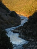 Klamath River Canyon in December