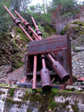 Independence Mine rock crusher