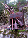 Indepedence Mine rock crusher and Kelly