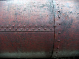 18inch water pipe built with rivets and iron plate