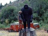 Monte meets Bigfoot in 1977
