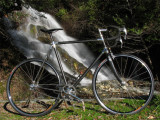 CDC Vintage 1970s Carbon Fiber Frame  = 16 pound fixed gear bike