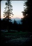 Grouse Gap Shelter sunset