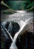 Twister Falls on Eagle Creek